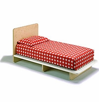 KIP Platform Bed (Twin or Full) for Kids by Offi