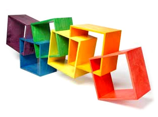 """""""Knick Knacks"""" Shelves by Straight Line Designs - Click to enlarge"""