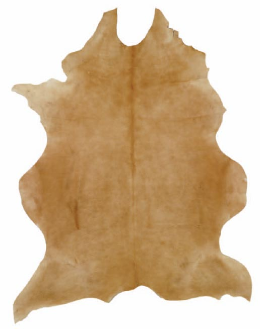 Latte Cow Hide Rug - Click to enlarge