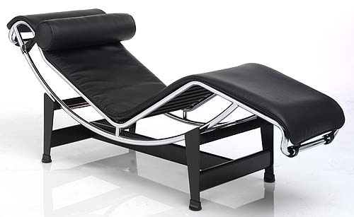 shop lc4 le corbusier chaise lounge for only 790. Black Bedroom Furniture Sets. Home Design Ideas