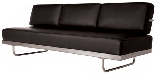LC5 Le Corbusier Sofa Bed Chaise Daybed   Click To Enlarge