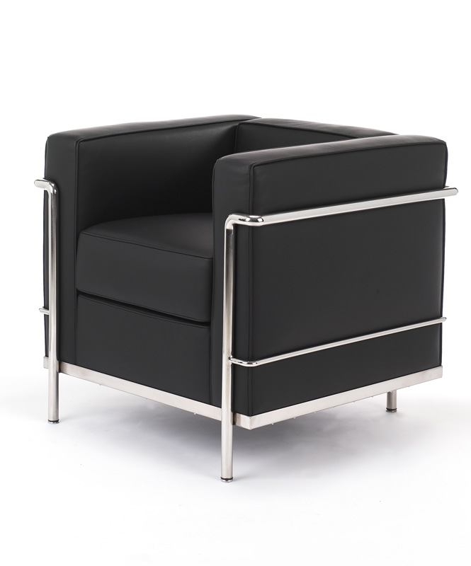 shop le corbusier petit confort 30 chair lc2a for only 795. Black Bedroom Furniture Sets. Home Design Ideas