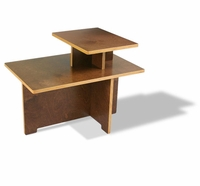 Linear 2-Tier End Table by InModern