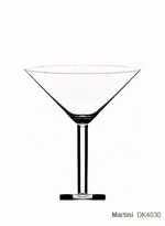 Liquids Martini Glass (Set of 6)