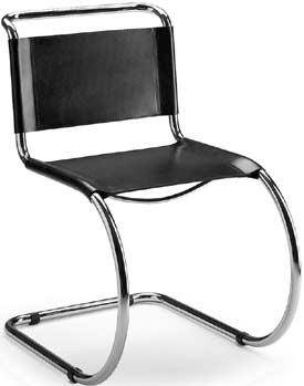 Buy ludwig mies van der rohe sedia chair mr 1927 and - Mies van der rohe sedia ...