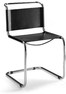 Gentil Mart Stam Cantilever Chair   Click To Enlarge