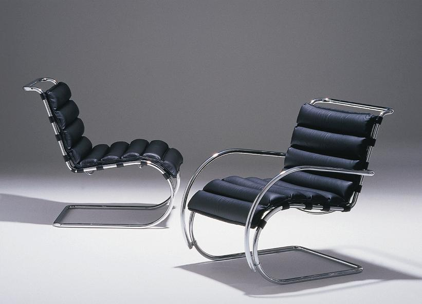Mies Van Der Rohe Chairs - Click to enlarge