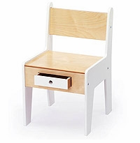 Mini-Drawer Chair for Kids / Nursery by Roberto Gil
