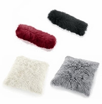 Mongolian Sheep Hair Cushions / Pillows