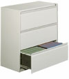 "OfficeSource 36""W - 3 DRAWER LATERAL FILE, 8363"