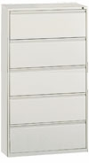 "OfficeSource 36""W - 5 DRAWER LATERAL FILE, 8365"