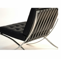 Pavilion Chair 100% Italian Leather   In Stock!   Click To Enlarge