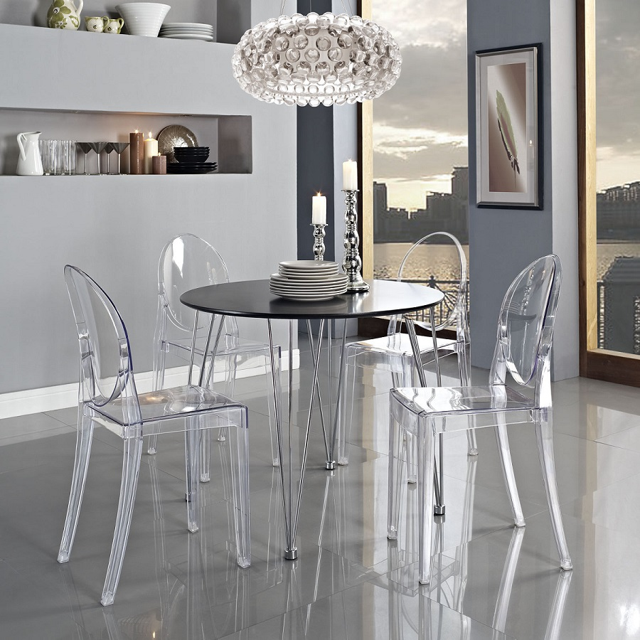 Shop philippe starck ghost chair armless for only 125 at philippe starck ghost chair armless arubaitofo Images