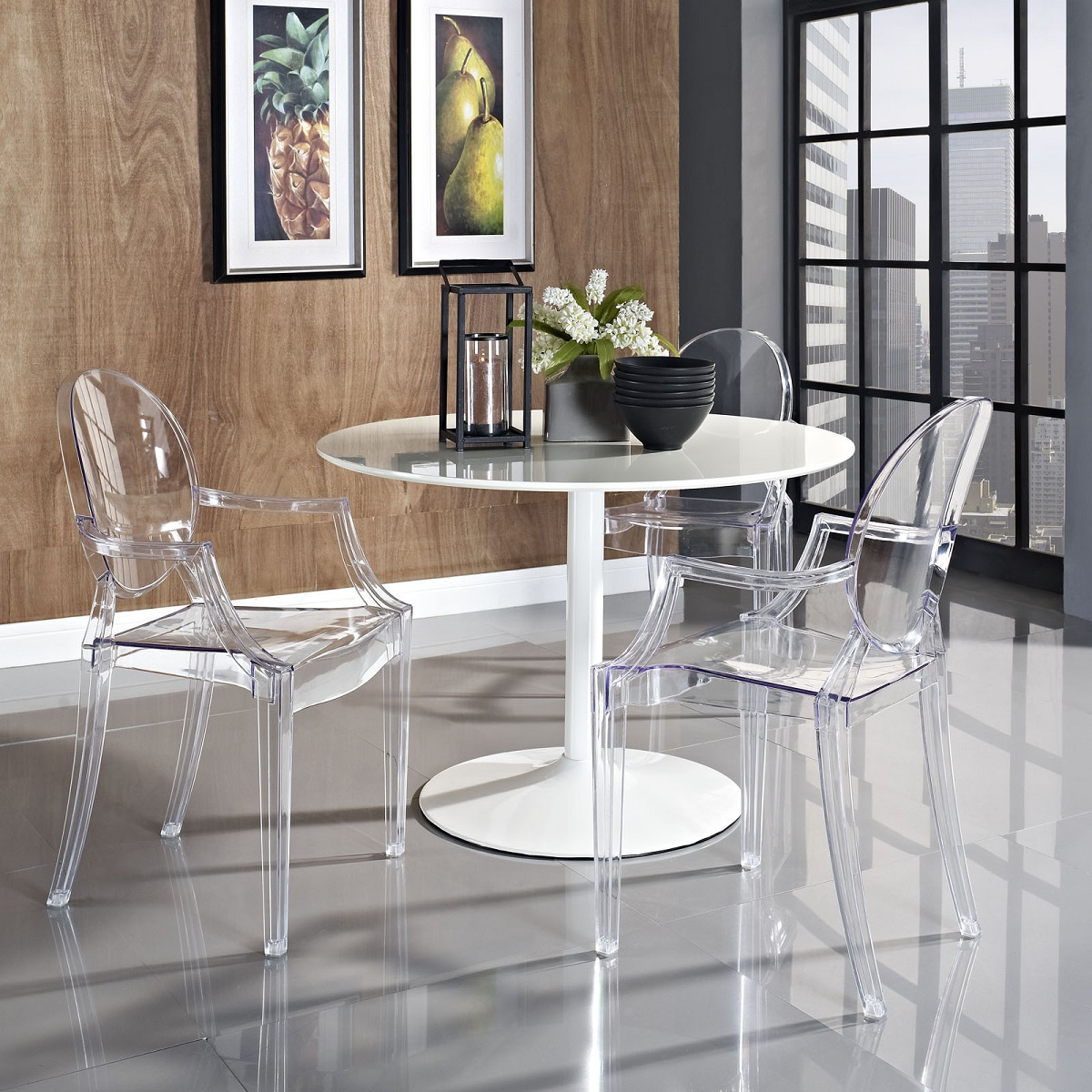 shop philip starck ghost chair by philippe starck at discount price