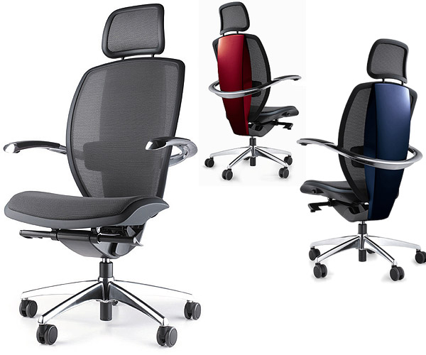 color office chairs. Pininfarina Xten Italian Executive Ergo Chair By Ares Line (4 Color Choices) - Click Office Chairs
