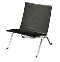 Poul Kjaerholm Easy Chair Black Leather