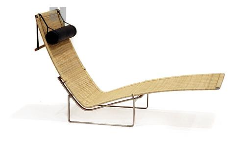 Poul Kjaerholm Hammock Chaise Woven Cane PK24 - Click to enlarge  sc 1 st  Gibraltar Furniture : cane chaise - Sectionals, Sofas & Couches