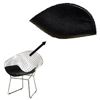 Replacement Pad For Bertoia Diamond Wire Chair   Back Pad