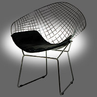 Replacement Pad For Bertoia Diamond Wire Chair Seat