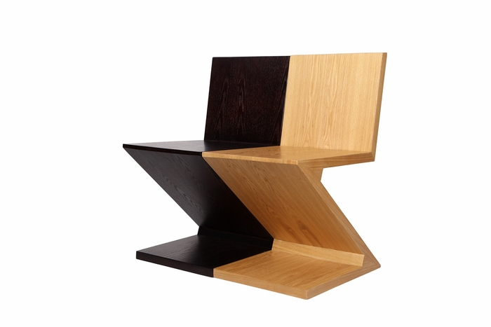 Shop rietveld zig zag chair for only 575 for Chaise zig zag
