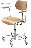 SBG 197 R Chair with Brussels Frame by Wilde + Spieth - Click to enlarge