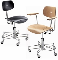 SBG 197 R Chair with Brussels Frame by Wilde + Spieth