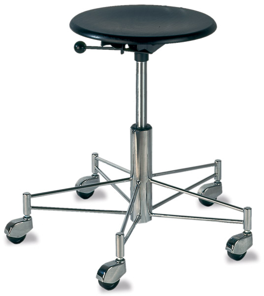 SBG 43 Swivel Stool with Brussels Frame by Wilde + Spieth - Click to enlarge