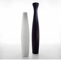 Scarlett Vase 180 by Serralunga (Fluted Top)