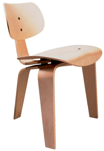 SE 42 3-Legged Molded Plywood Chair by Wilde + Spieth - Click to enlarge