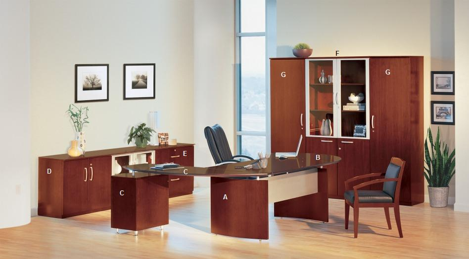 Tiffany Napoli Desk And Office Furniture Collection