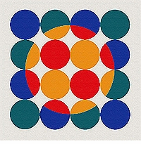 Verner Panton Rug Carpet - 5 Series