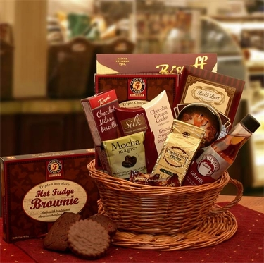 """A Cup Of Joe"" Coffee Gift Basket"