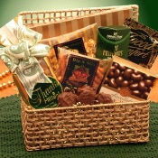 A Golden Thank You Gift Basket