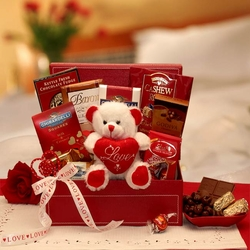 """Be My Love"" Chocolate Valentine Gift Set"