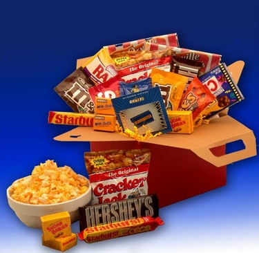 Blockbuster Movie Care Package