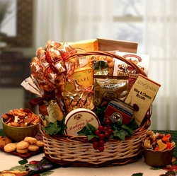 Bountiful Favorites Gift Basket
