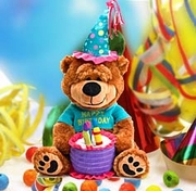 """Brownie"" The Singing Happy Birthday Bear"