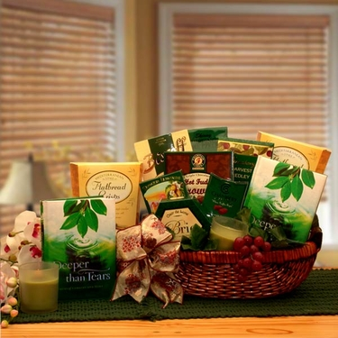 """Deeper Than Tears"" Condolence Gift Basket"