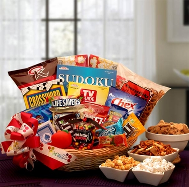 """Feel Better Soon"" Get Well Gift Basket"