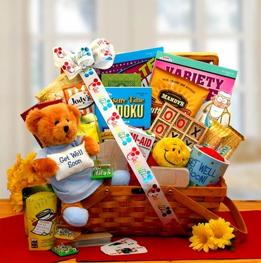 """Get Well Soon My Friend"" Gift Hamper"