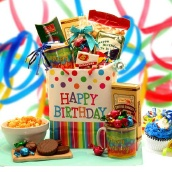 Happy Birthday To You Canvas Tote