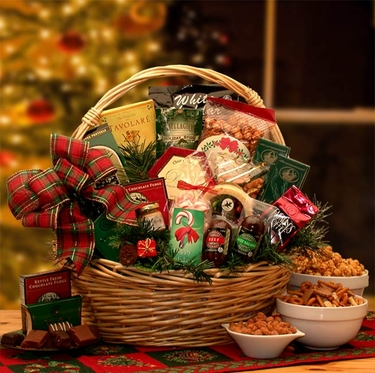 Holiday Celebrations Gift Basket - Medium