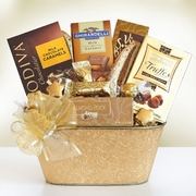 Holiday Gold Rush Gift Basket