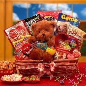 "Kids ""You Rock!"" Valentine Gift Basket"
