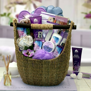 Lavender Sky Ultimate Bath & Body Tote