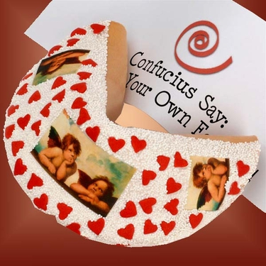 Lil' Angels Giant Valentine Fortune Cookie