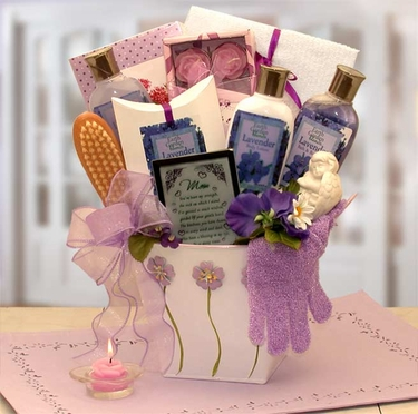 Mom's Lovely In Lavender Bath & Body Gift Set