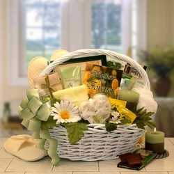 """""""Mother's Are Forever"""" Gift Of Relaxation Gift Basket"""