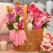 Pamper Me Pink Spa Gift Basket