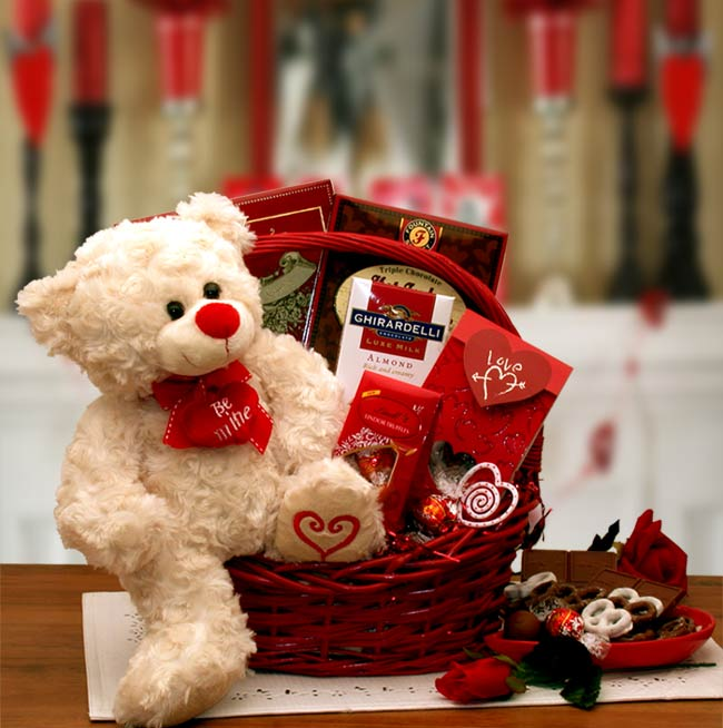 Say Youll Be Mine Valentine Basket